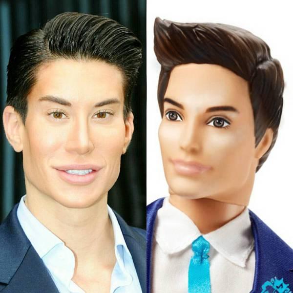 Real life ken doll