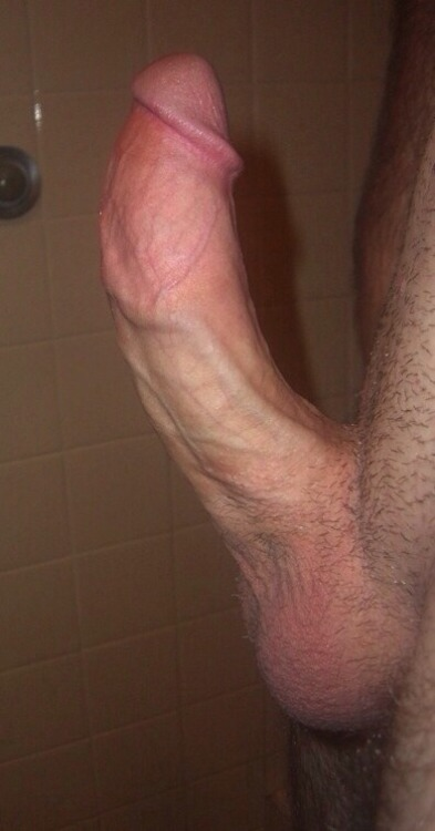 White cut cock shaved