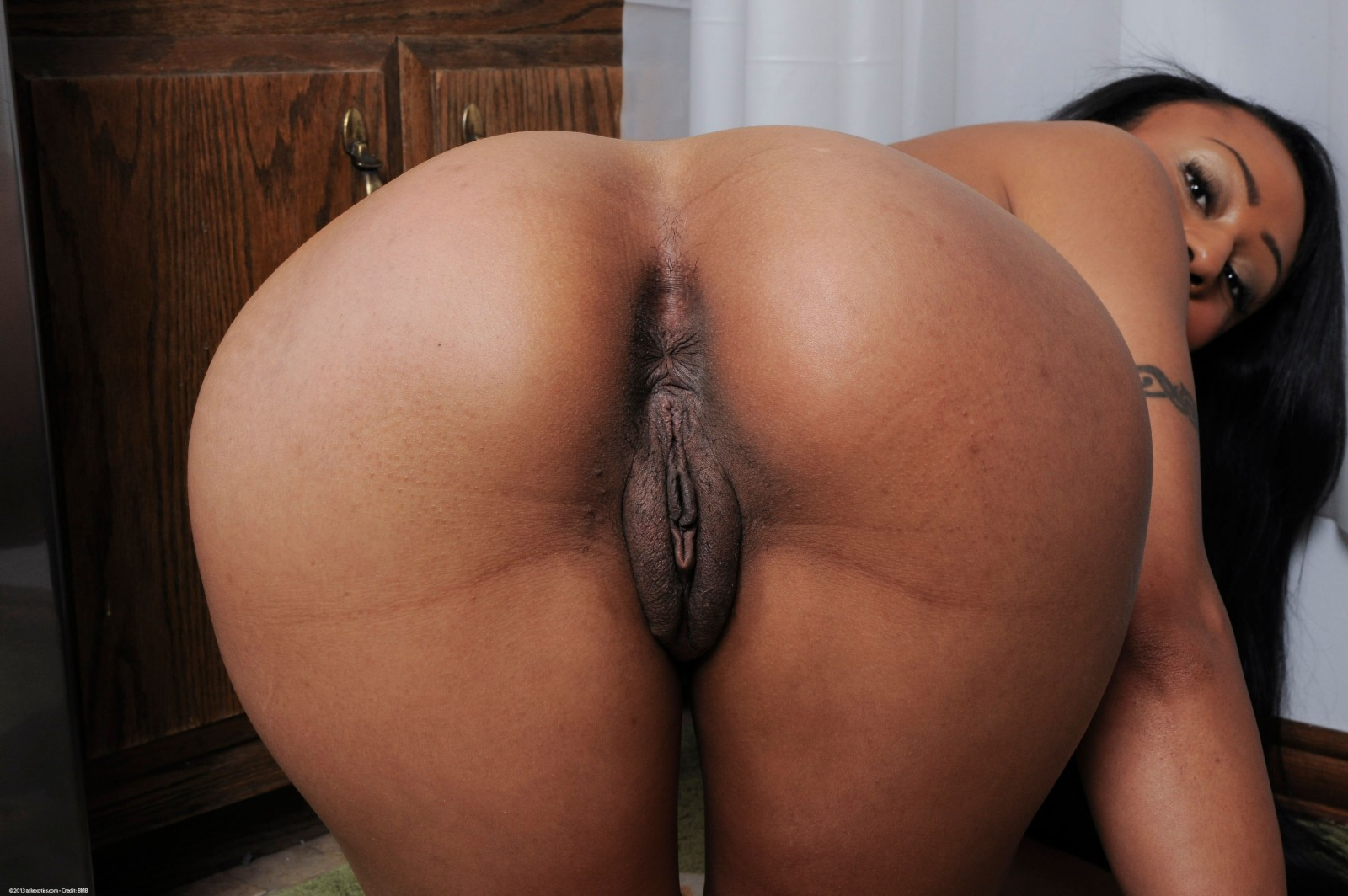 behind and from Nice pussy ass