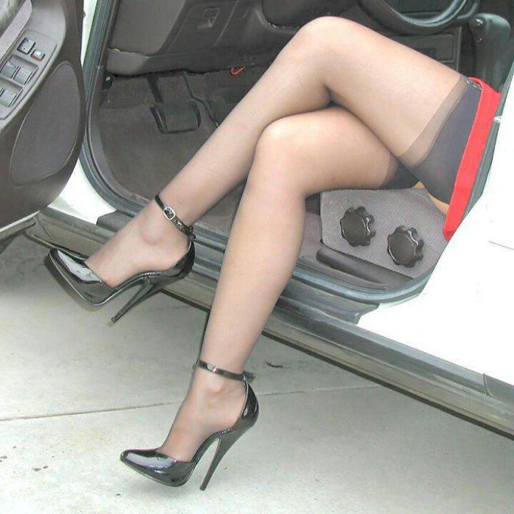 heels Nylons and