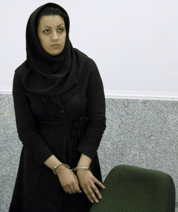 Body iranian woman