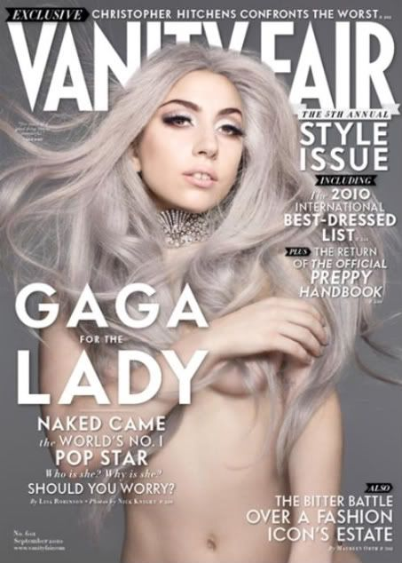 Lady gaga nude vanity fair