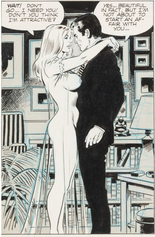 Vintage adult erotic cartoon sex