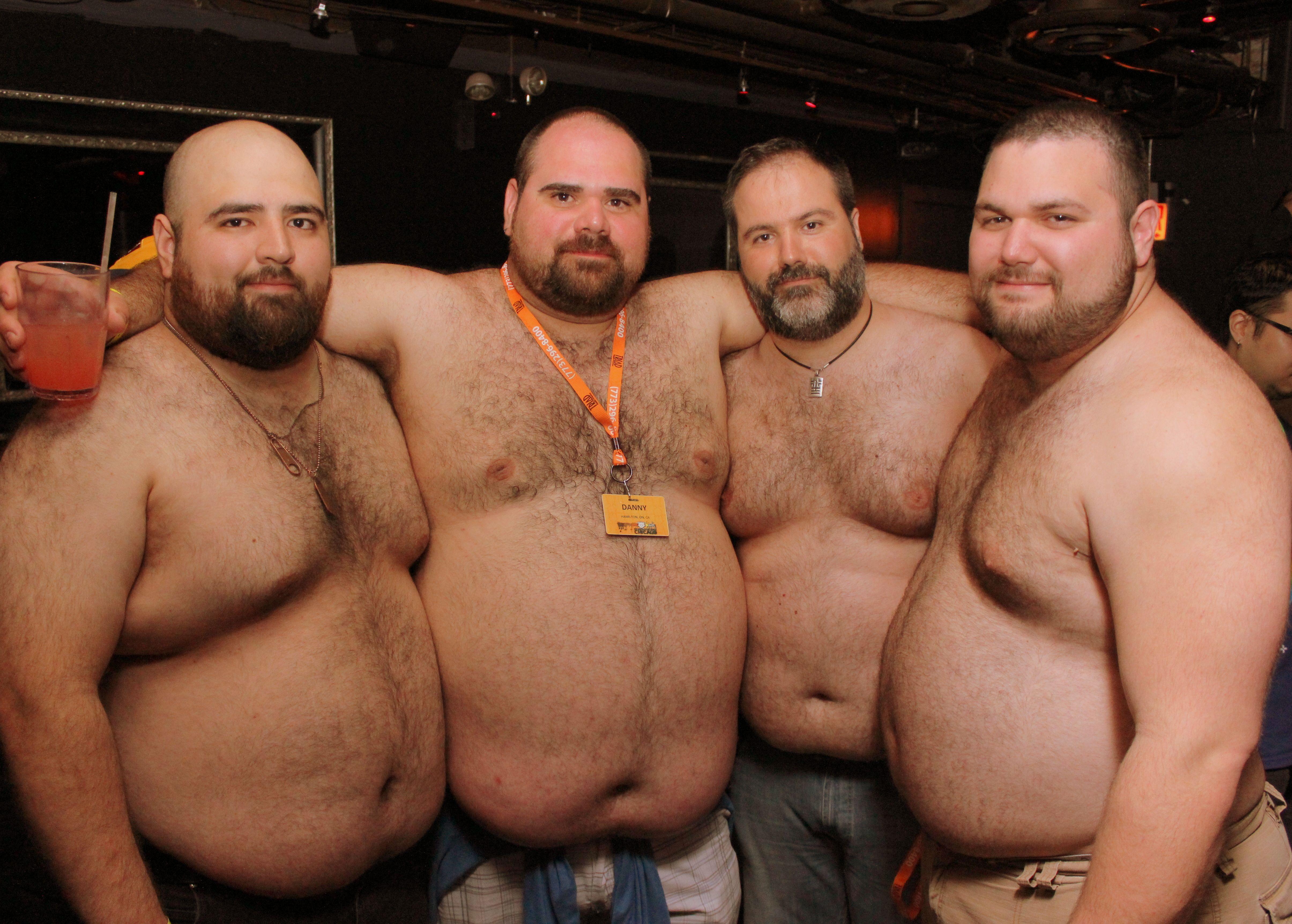 Fat gay chubby bear men
