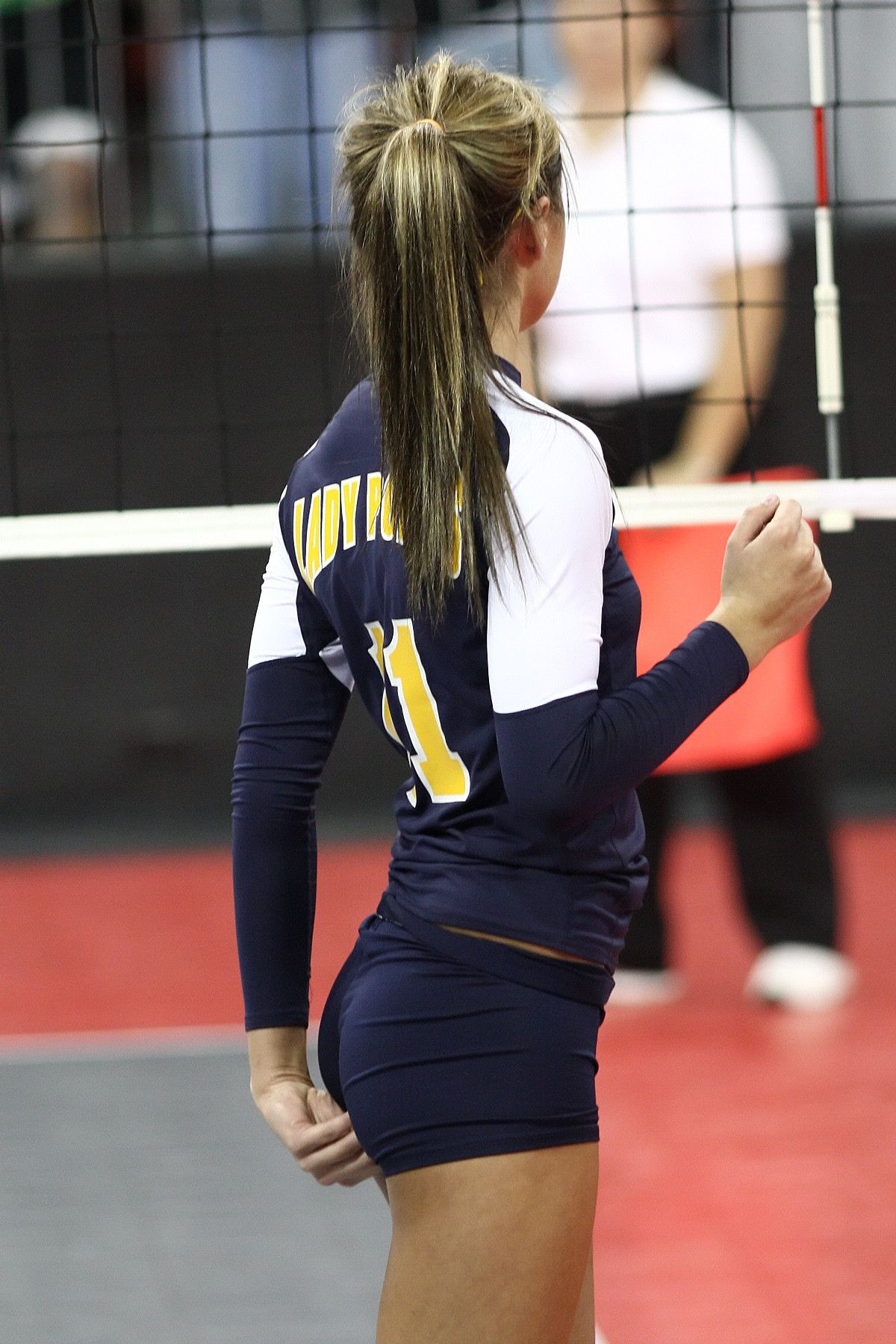 Sexy volleyball girls ass