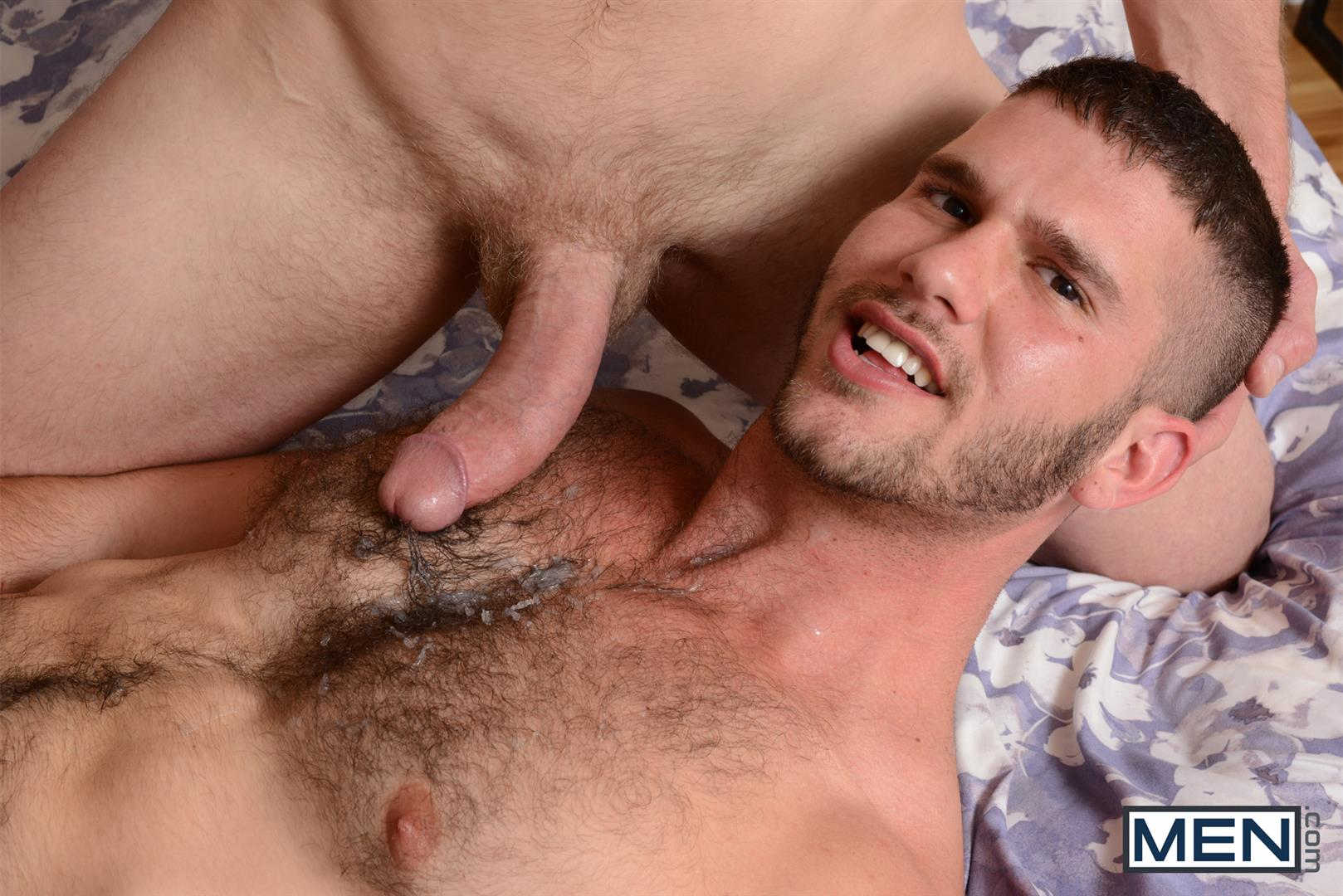 Hairy gay men having sex