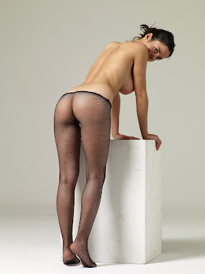 Muriel fishnet stockings
