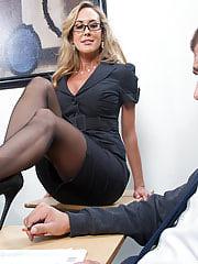 Brandi love office sex