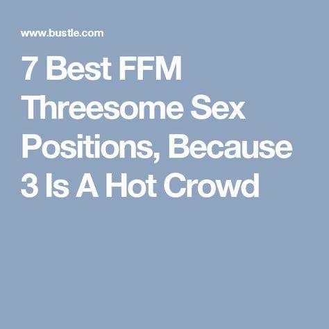 Best ever ffm sex positions