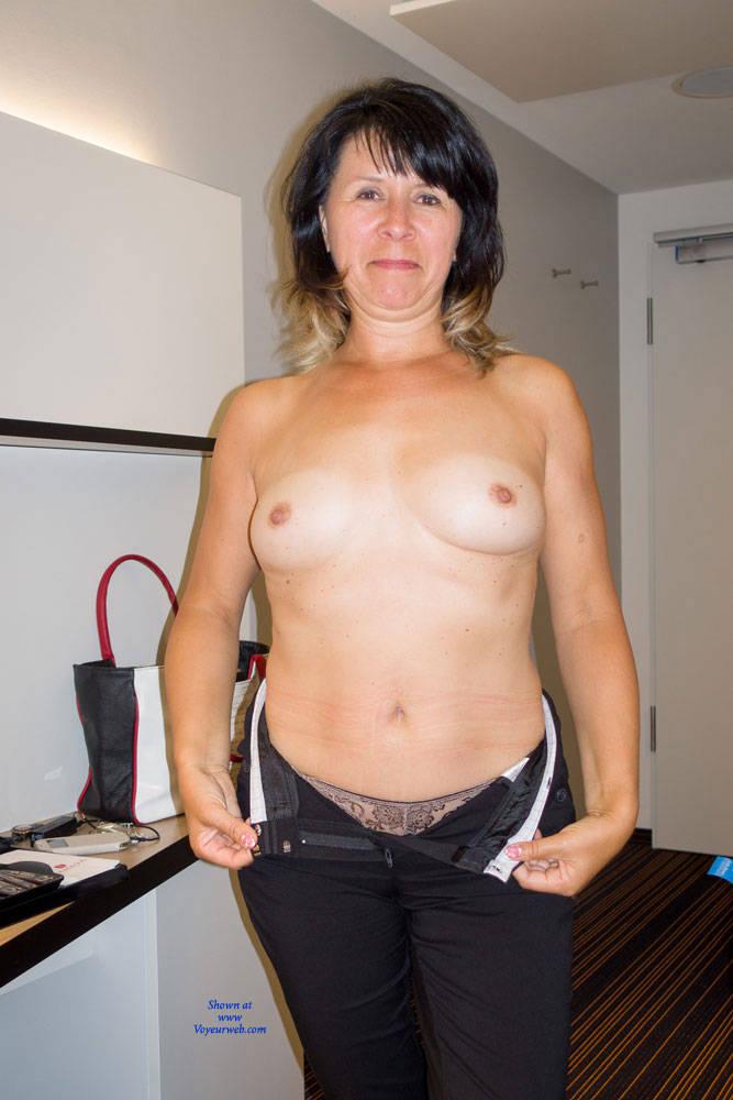 Brilliant nude middle aged milf