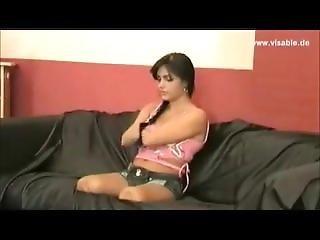 Quad amputee woman having sex