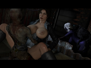 monster porn croft Lara