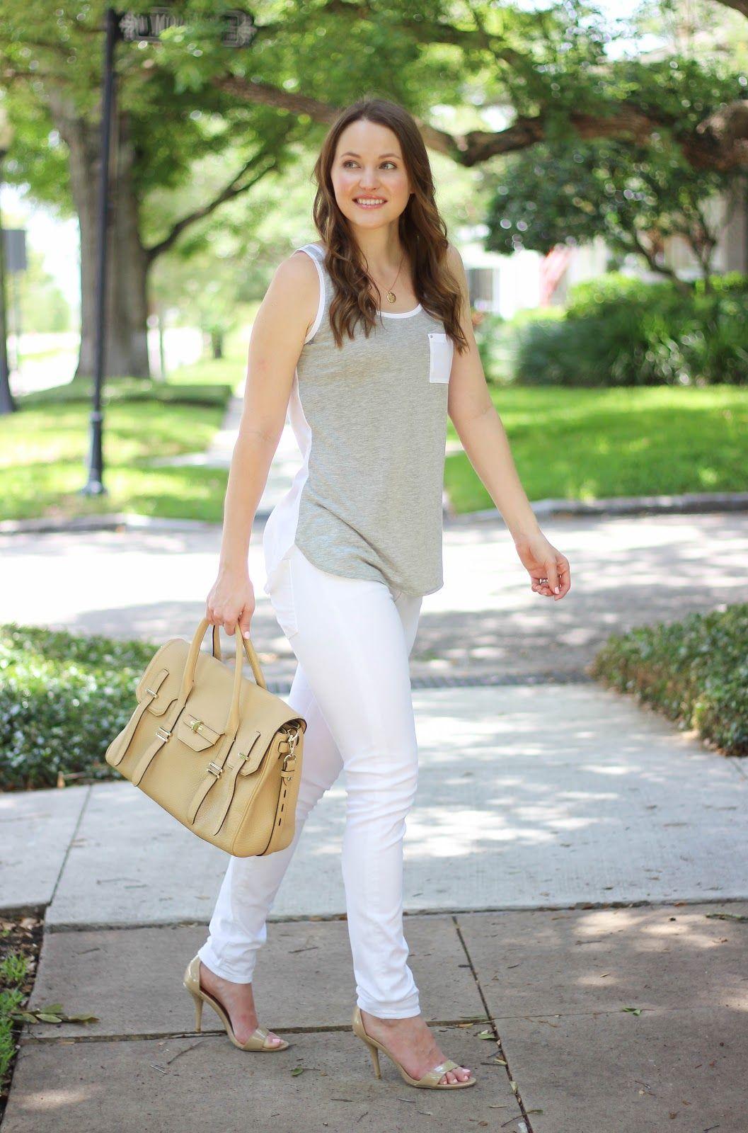 jeans skinny Nude girl