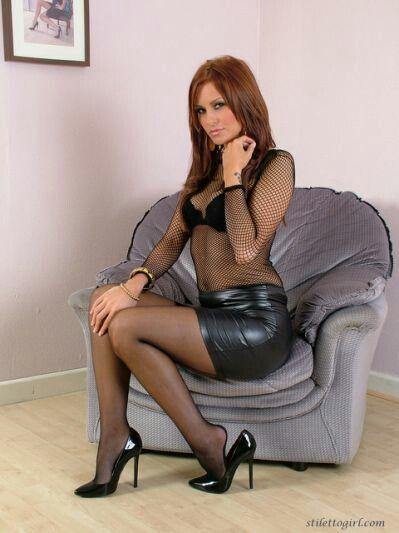 Spandex mini skirt porn