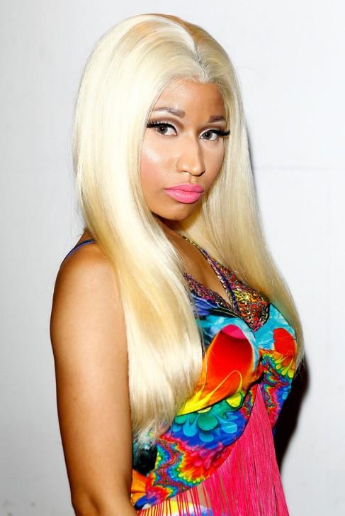 Nicki minaj blonde hair