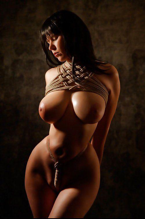 Japanese breast rope bondage