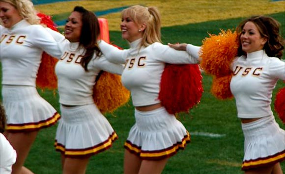 Usc cheerleaders porn