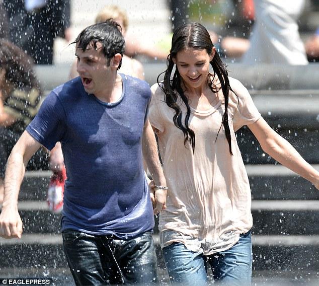 Accidental wet tee shirt