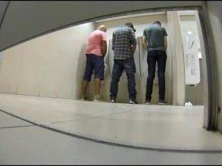 Gay public bathroom sex
