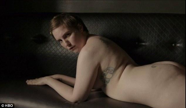 Lena dunham nude naked