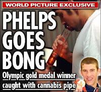 Michael phelps smoking weed