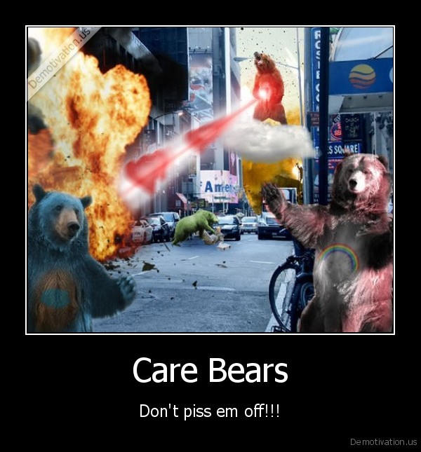 Demotivational care bears