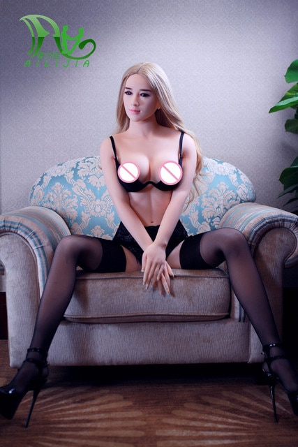 Perfect blonde sex toy
