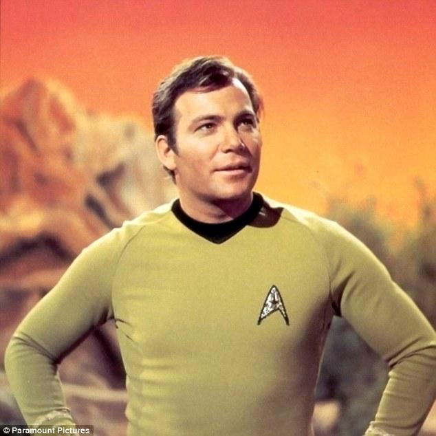 trek kirk Star captain