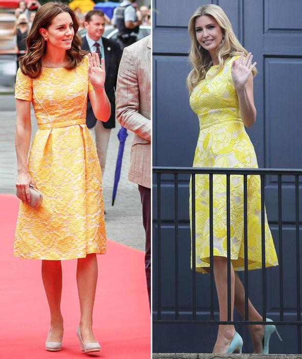 Kate middleton yellow