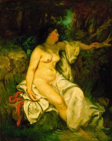 Gustave courbet nude paintings