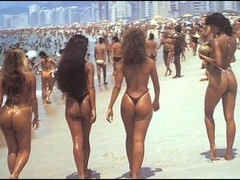 Rio de janeiro brazil beach girl