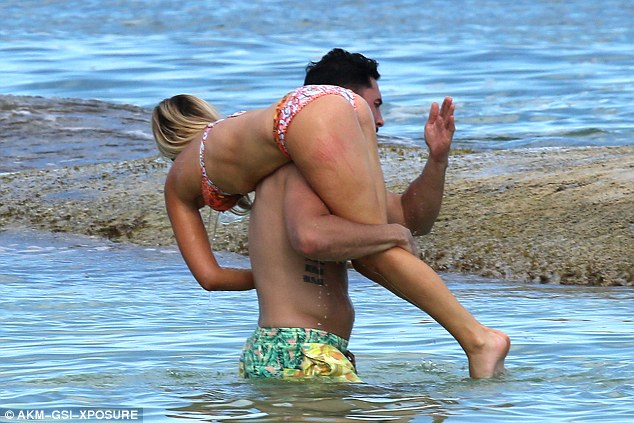 Beach girl spankings
