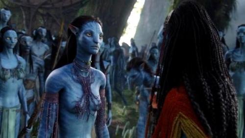 Avatar naked alien girl