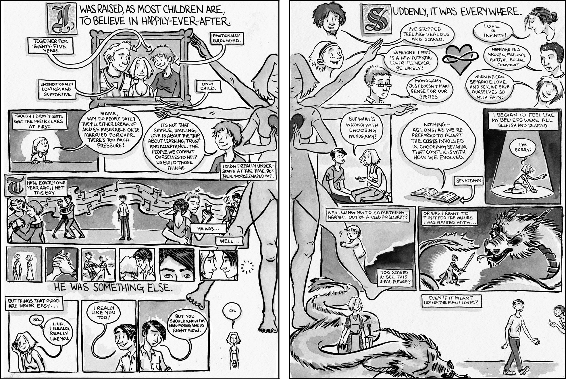 sex comics lesbian Anime
