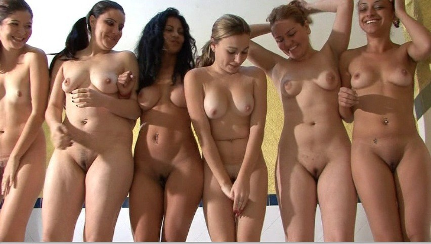 Nude college girls self shots