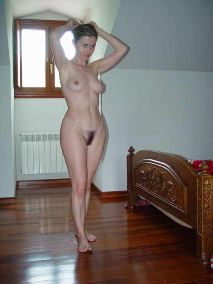 Nude at home