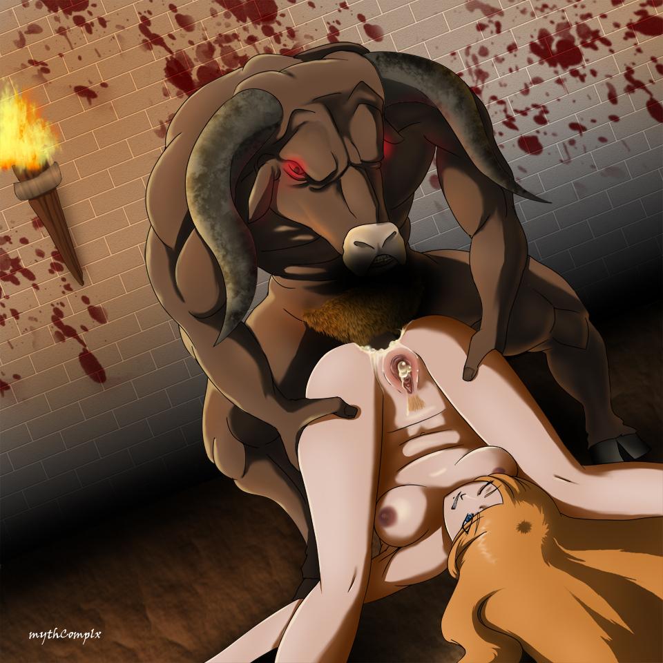 Minotaur monster girl hentai