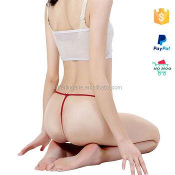 Asian teen g string