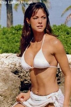 Eva larue see through swimsuit