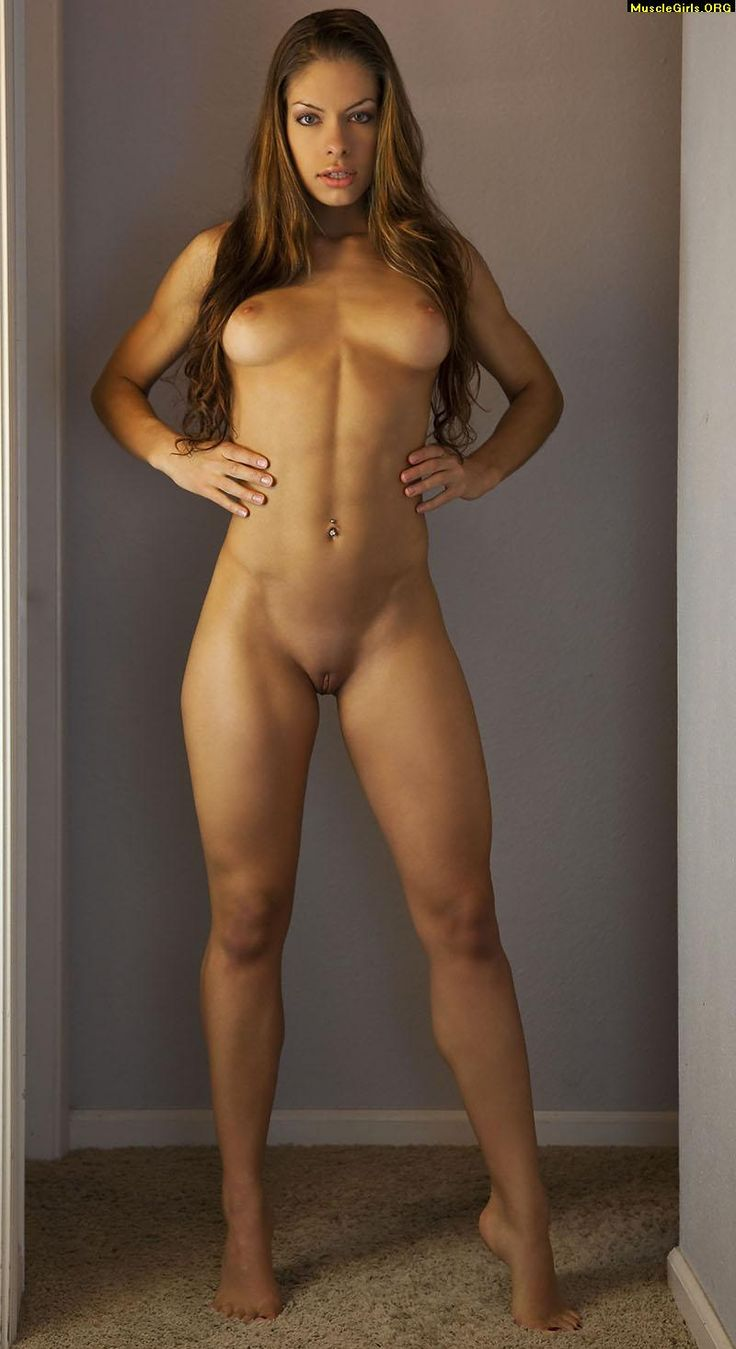 Nude fit girl fitness
