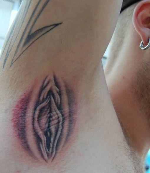 armpit tattoo Vagina