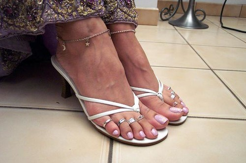 Indian aunty feet