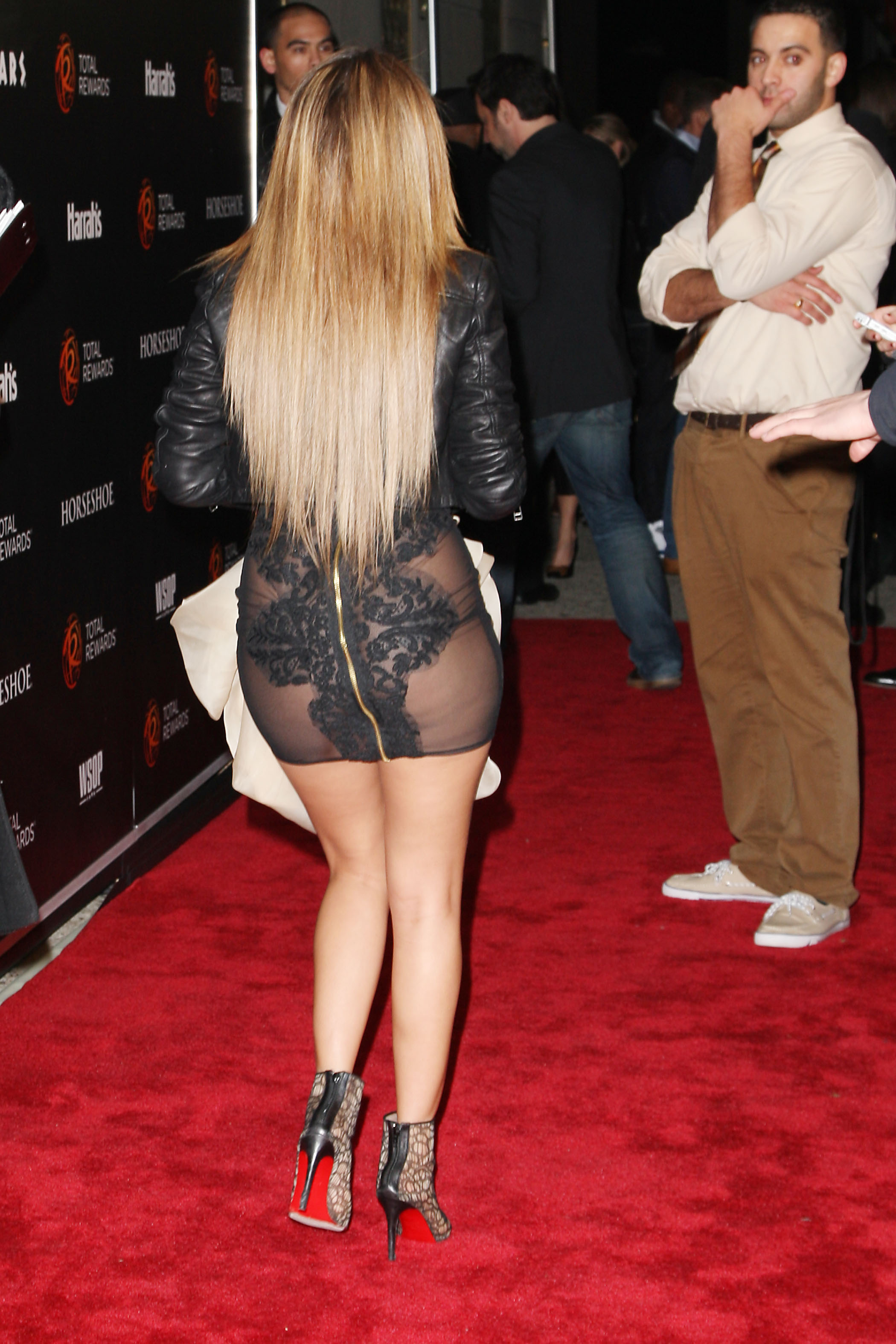 Pussy adrienne bailon see through