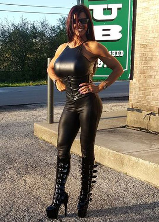 Hot girls big boobs latex