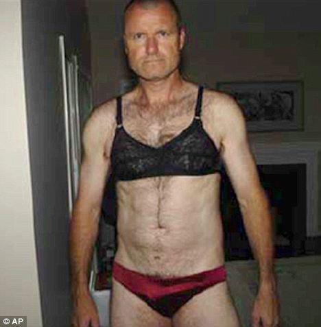Men wearing women panties