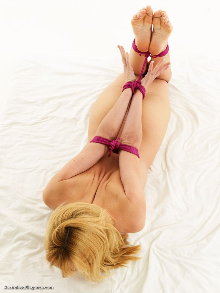 Bondage and submissive sex positions
