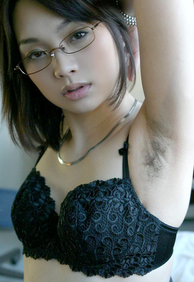 Asian hairy armpits