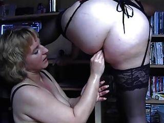 Bbw lesbian anal sex