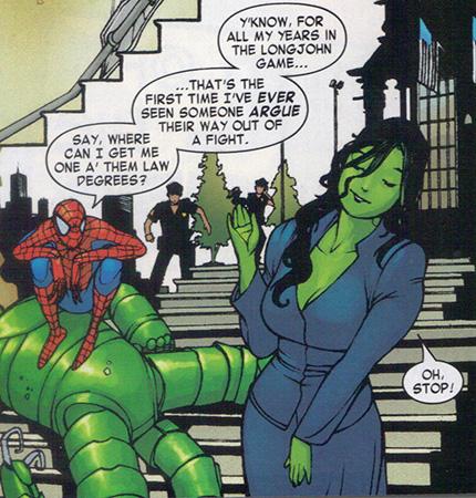 She hulk porn comics