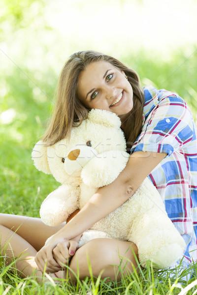 bear Teen with teddy